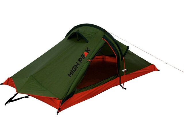 High Peak Siskin Tente, olive/red